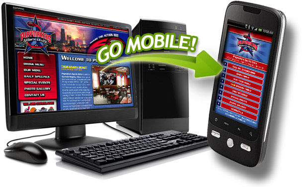 Go Mobile! Add a mobile websitete for users with smartphones.