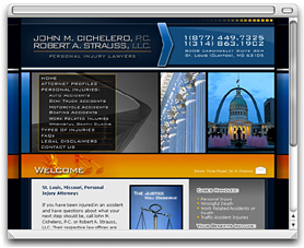 John Cichelero & Robert Strauss - Personal Injury Lawyers - St. Louis, MO