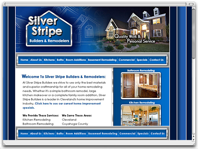 Affordable Builder And Contractor Website Design